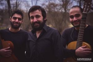 Ahmad Rafaeloo, Abdo Khalil und Elias Aboud