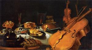 Historische Improvisation im OMAcafé